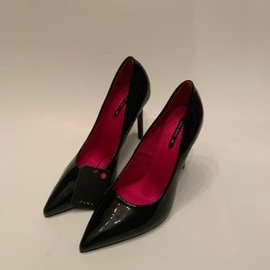 Zara Gorgeous black heel with pointed toe